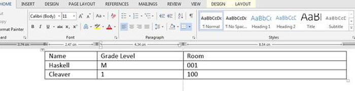 Thủ thuật Word: 4 mẹo vặt đơn giản giúp thao tác dễ dàng với bảng - Hình 5