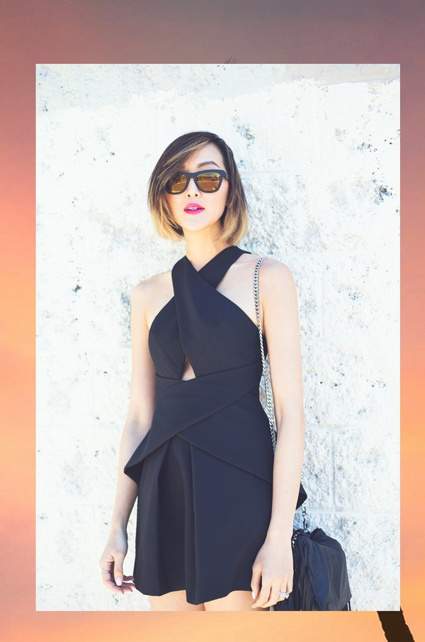 Váy đen - món đồ bạn nên có trong những ngày giữa thu - Hình 6