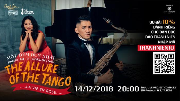 Giáng sinh với giai điệu tango cùng 2 nghệ sĩ đến từ Hồng Kông - Hình 1