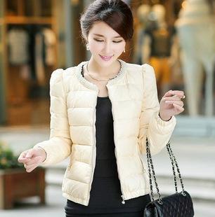 Áo khoác phao nữ dáng ngắn hàn quốc đẹp dễ thương thu đông - Hình 2