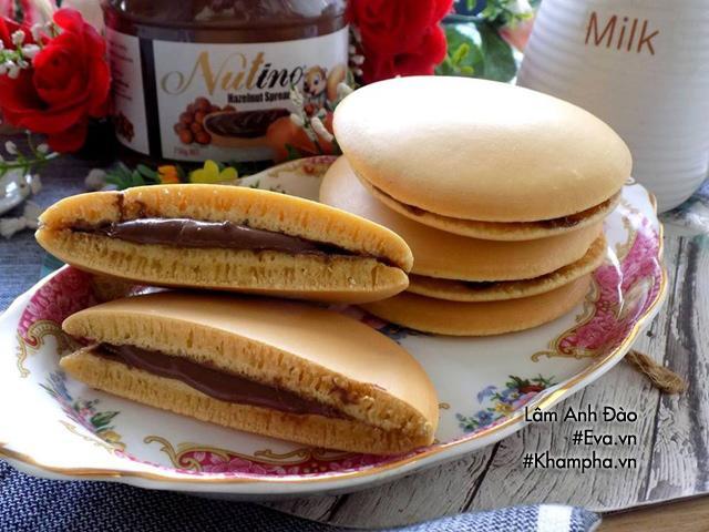 Cách làm bánh rán doremon siêu đơn giản mà ngon bất ngờ - Hình 5