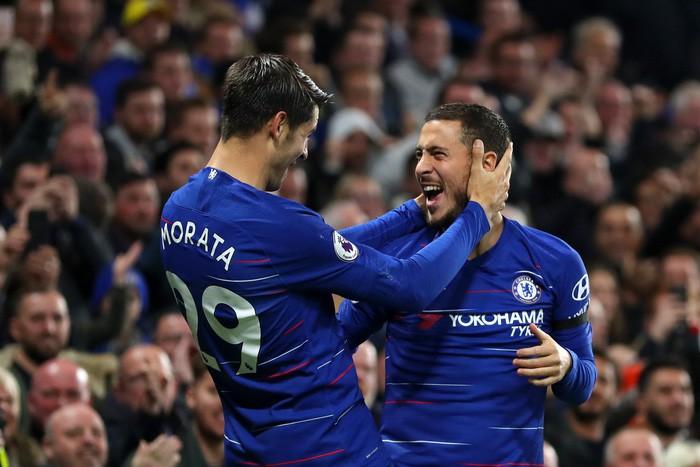 Điệu đà không cần thiết, Morata bỏ lỡ cơ hội mười mươi để lập hat-trick cho Chelsea - Hình 6