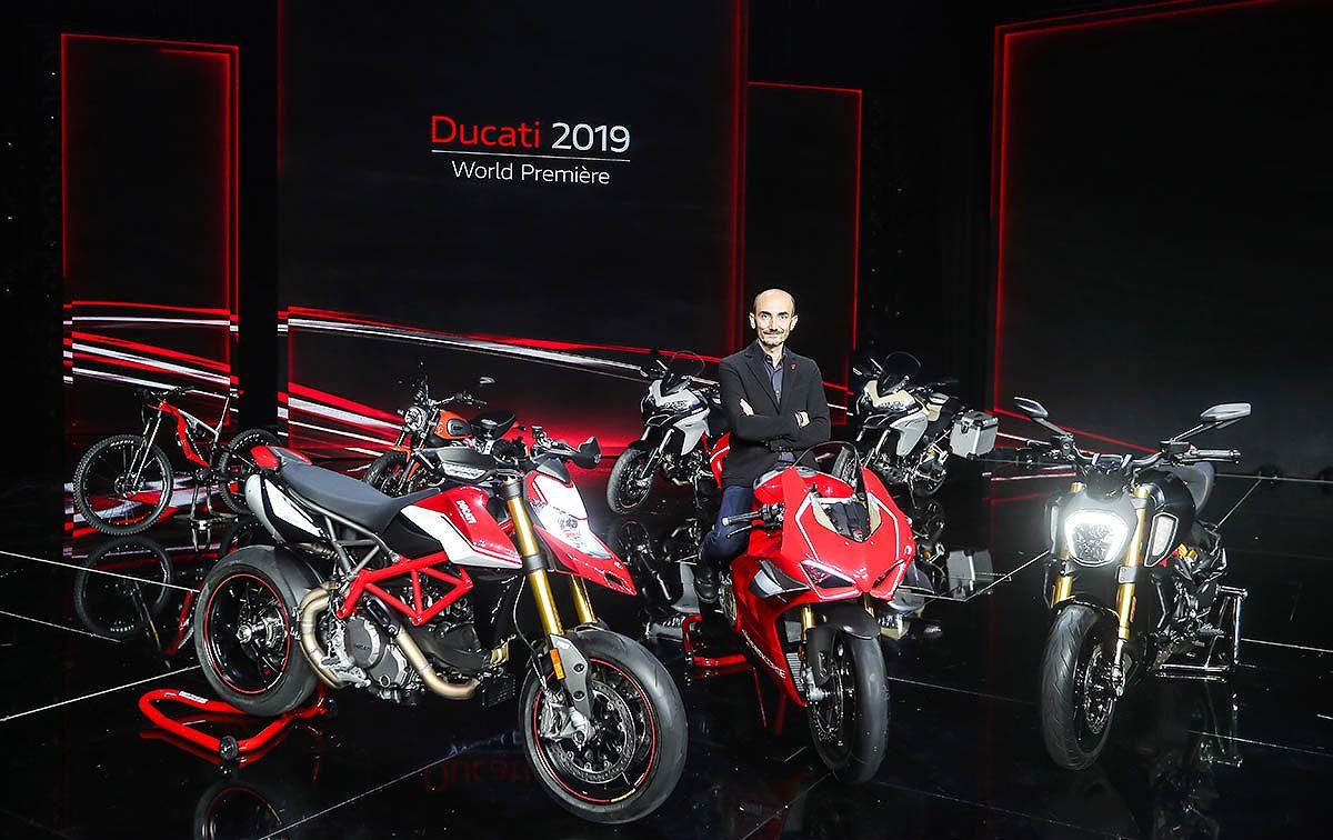 Ducati ra mắt siêu phẩm Panigale V4 R và loạt xe mới Model 2019 - Hình 1