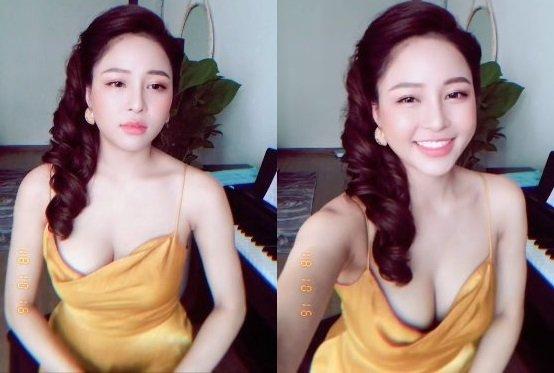 Loạt ảnh hot girl Trâm Anh khoe khuôn ngực căng tròn, gợi cảm khó cưỡng - Hình 2
