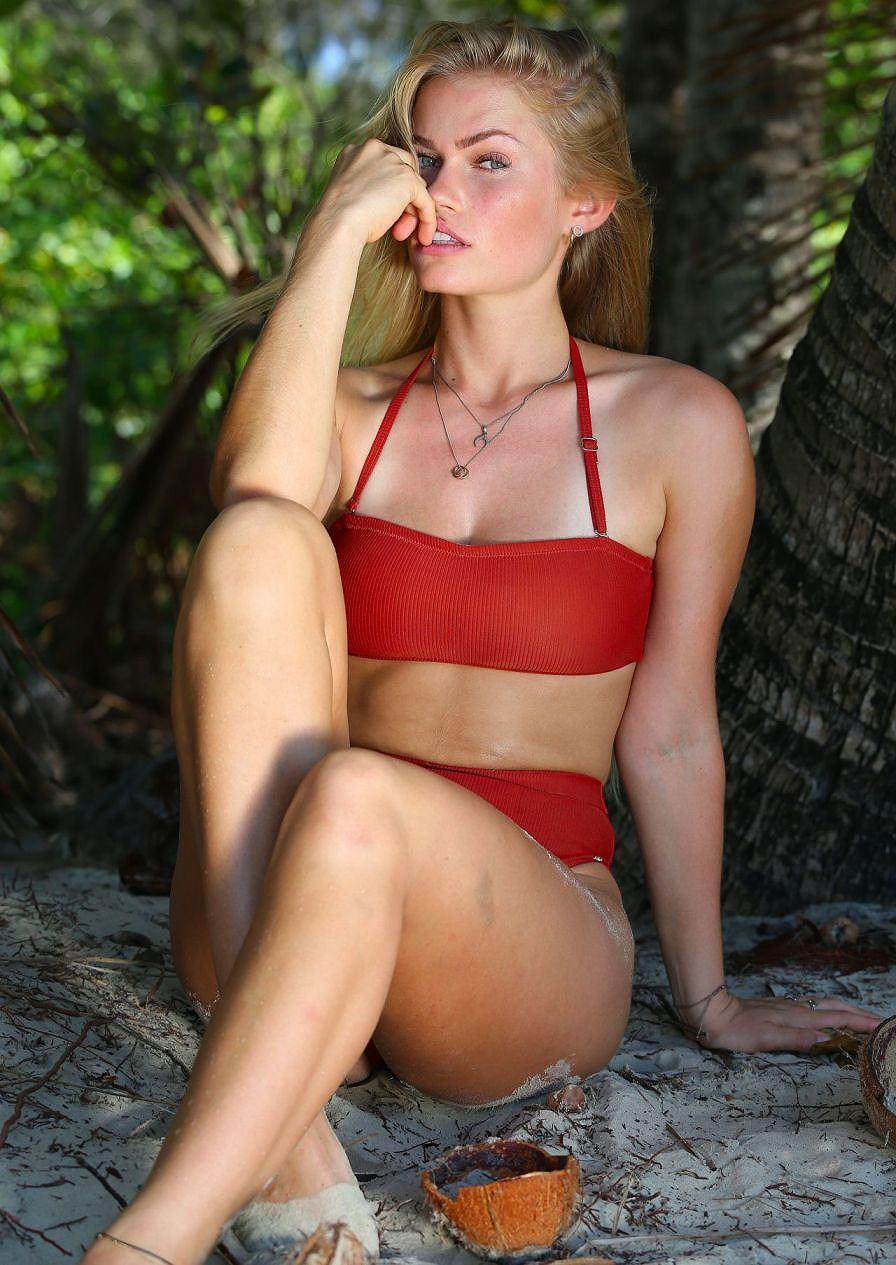 Đường cong nóng hỏng cả mắt của người mẫu Jo Orthey - Hình 2