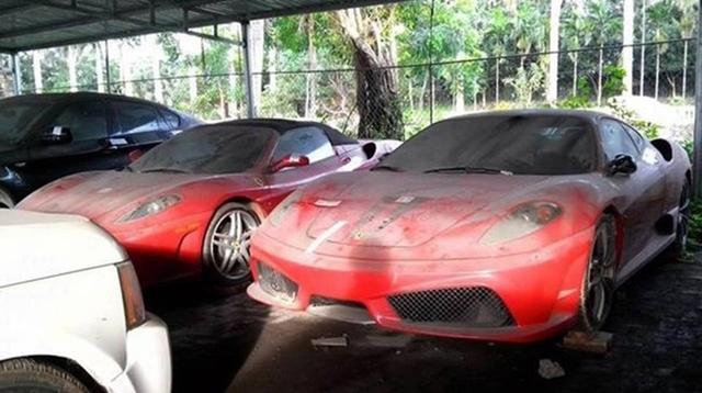 Rolls-Royce Ghost cùng siêu xe Ferrari F430 làm bạn với bụi trong hầm đỗ xe - Hình 4