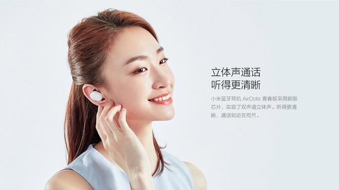 Xiaomi ra mắt tai nghe bluetooth AirDots: True wireless, Bluetooth 5.0, pin 4 tiếng, giá 700.000 đồng - Hình 4