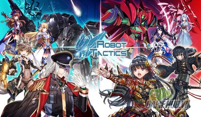 Anime kết hợp Robot trong game chiến thuật hàng khủng Mobile - Hình 1
