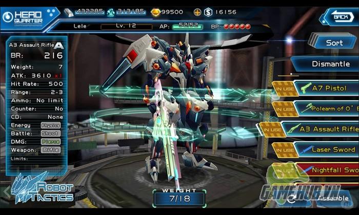 Anime kết hợp Robot trong game chiến thuật hàng khủng Mobile - Hình 3