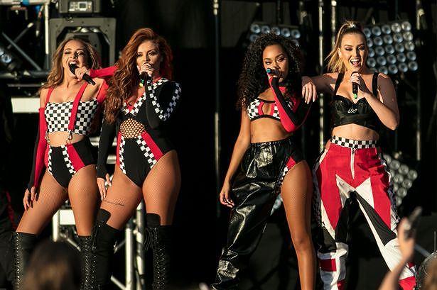 Bốn cô gái Little Mix trẻ trung, gợi cảm hút mắt - Người đẹp