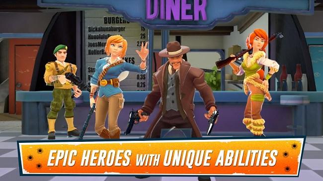 Heroes of Warland - Game FPS 4vs4 Online cực hấp dẫn - Hình 4