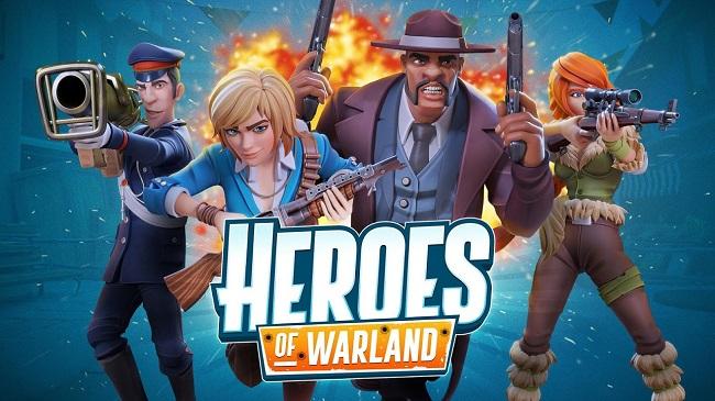 Heroes of Warland - Game FPS 4vs4 Online cực hấp dẫn - Hình 1