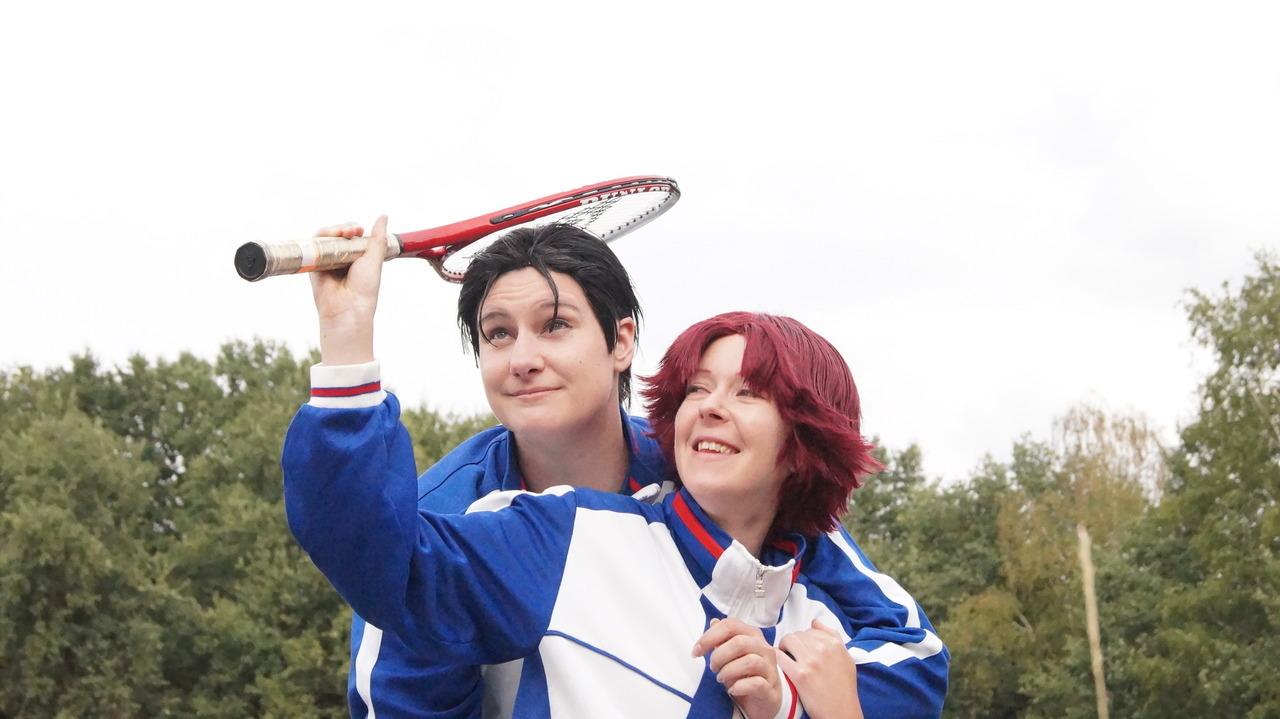 Hoàng tử Tennis - Sân bóng cực tình cảm của Kikumaru Eiji và Oishi Shuuichirou - Hình 2