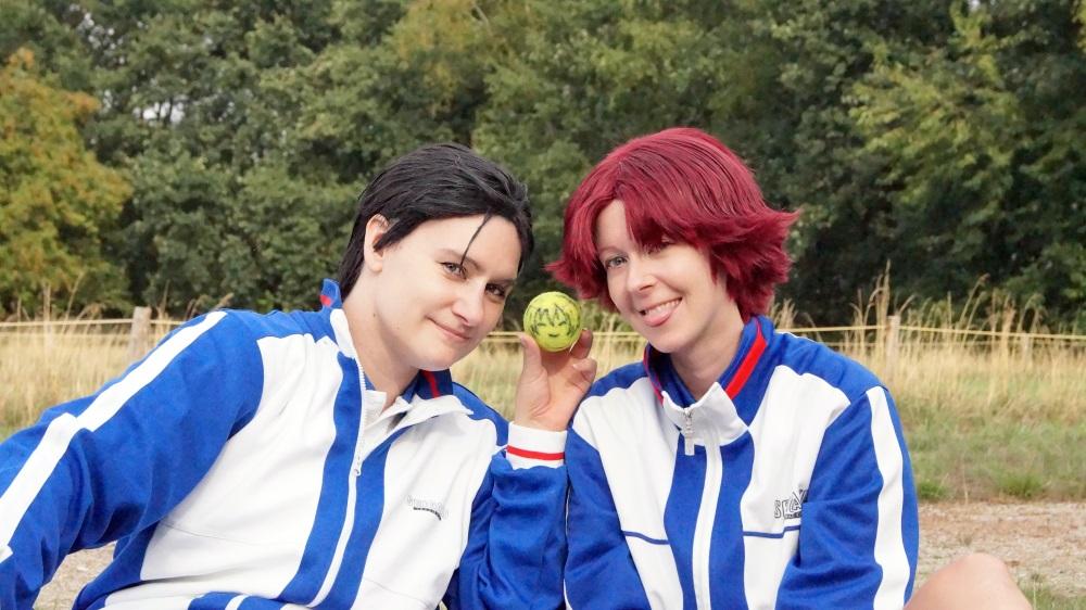Hoàng tử Tennis - Sân bóng cực tình cảm của Kikumaru Eiji và Oishi Shuuichirou - Hình 1
