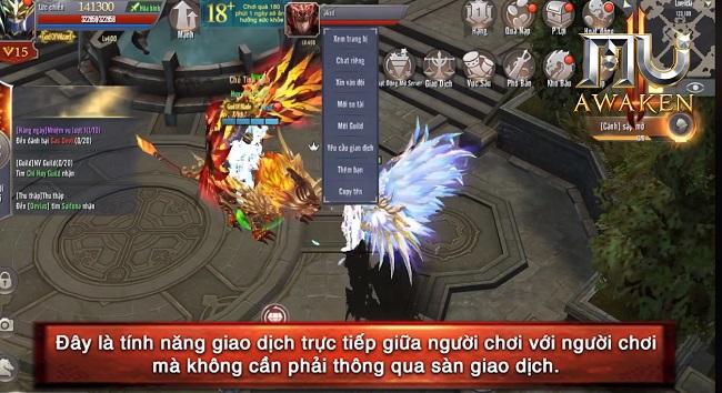 MU Awaken - VNG cho phép người chơi giao dịch trực tiếp - Hình 5