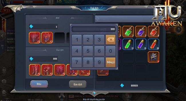 MU Awaken - VNG cho phép người chơi giao dịch trực tiếp - Hình 4