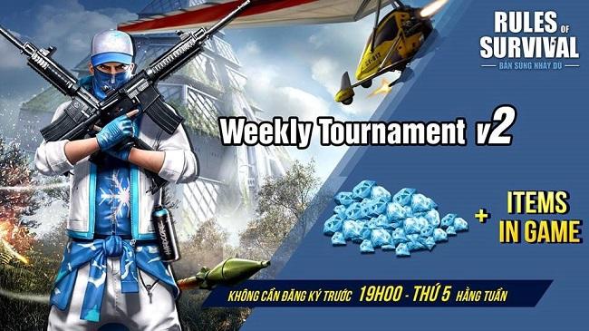 ROS Mobile Weekly Tournament: Tham chiến và nhận quà hot 19h tối ngày 8/11 - Hình 1