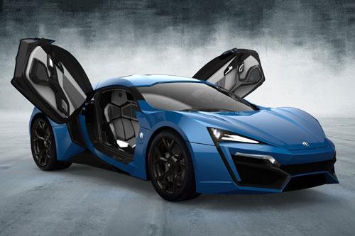 Top 10 siêu xe sử dụng vỏ bằng sợi carbon - Hình 9