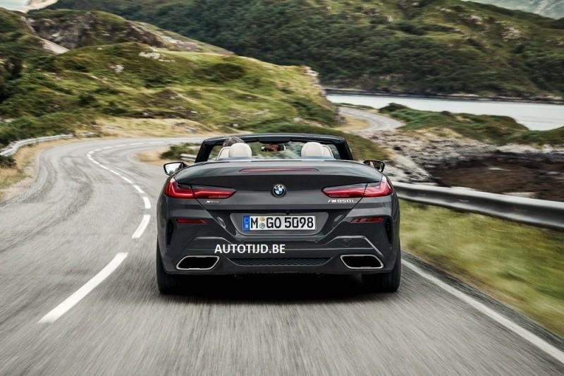 BMW 8-Series mui trần cùng toát lên vẻ đẹp sang trọng và thể thao - Hình 5