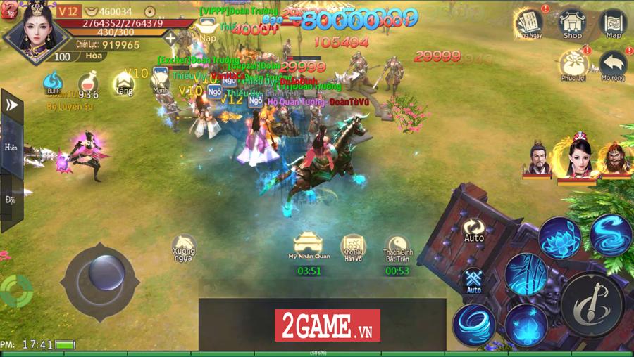 Chiến Thần Ký Mobile có lẽ là tựa game nhập vai đầu tiên cho người chơi hút máu lại NPH - Hình 5