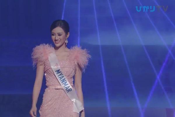 CLIP: Thùy Tiên bị loại cay đắng khỏi Top 15, Nhật Bản - Thái Lan - Philippines tiến xa Miss International 2018 - Hình 13