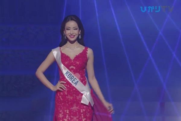 CLIP: Thùy Tiên bị loại cay đắng khỏi Top 15, Nhật Bản - Thái Lan - Philippines tiến xa Miss International 2018 - Hình 11