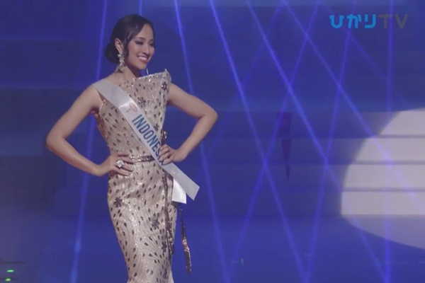 CLIP: Thùy Tiên bị loại cay đắng khỏi Top 15, Nhật Bản - Thái Lan - Philippines tiến xa Miss International 2018 - Hình 17