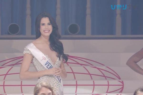 CLIP: Thùy Tiên bị loại cay đắng khỏi Top 15, Nhật Bản - Thái Lan - Philippines tiến xa Miss International 2018 - Hình 4