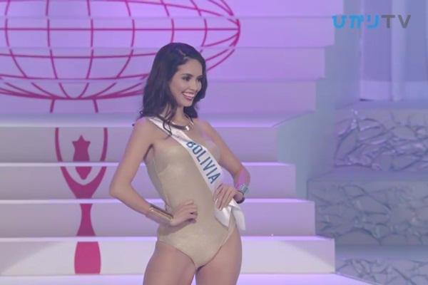 CLIP: Thùy Tiên bị loại cay đắng khỏi Top 15, Nhật Bản - Thái Lan - Philippines tiến xa Miss International 2018 - Hình 26