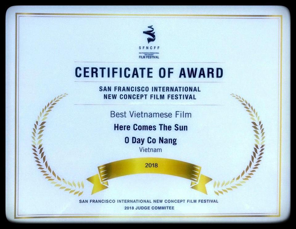 Ở đây có nắng đoạt giải Phim Việt Nam xuất sắc tại Liên hoan phim Quốc tế Ý tưởng mới 2018 - Hình 2