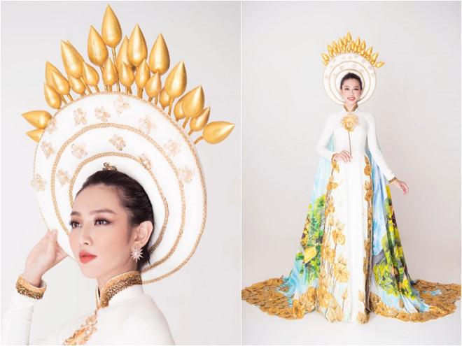 Thay đổi Quốc phục trong chung kết Miss International 2018, Thuỳ Tiên toả sáng đầy bất ngờ! - Hình 7