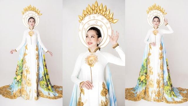 Thay đổi Quốc phục trong chung kết Miss International 2018, Thuỳ Tiên toả sáng đầy bất ngờ! - Hình 6