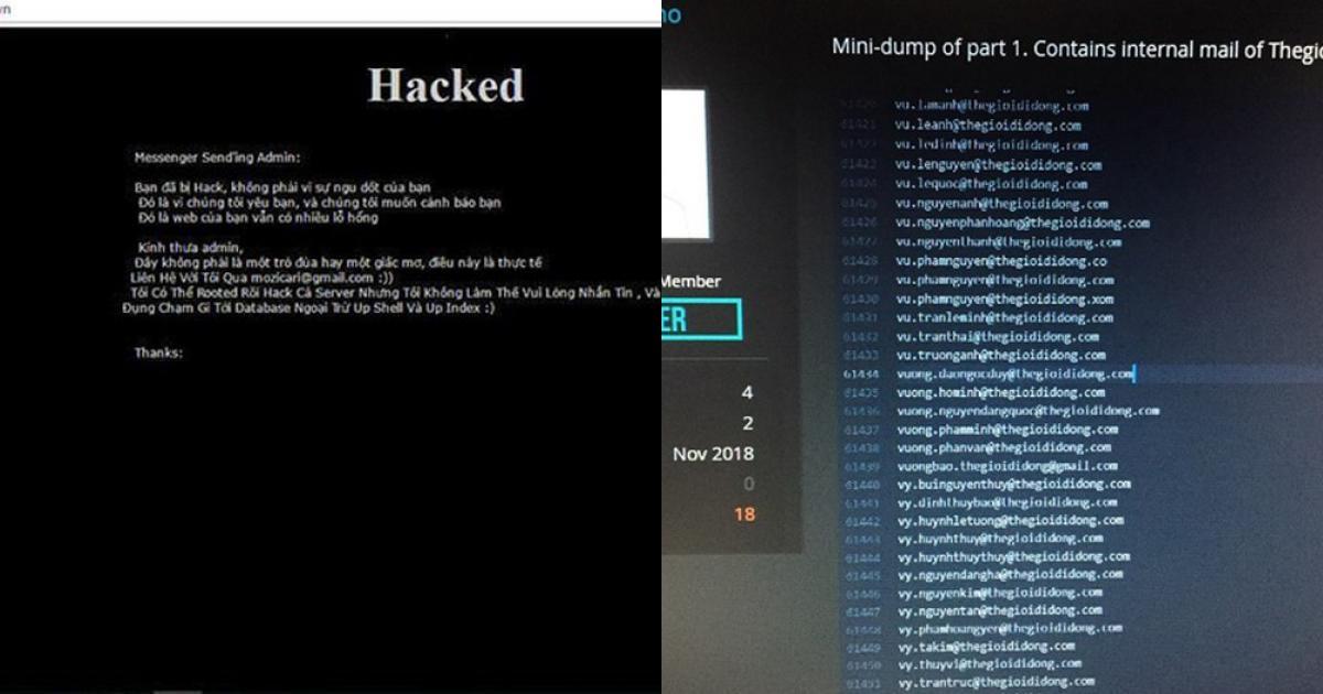 Trước TGDĐ, doanh nghiệp Việt nào bị hacker tấn công gây chấn động?