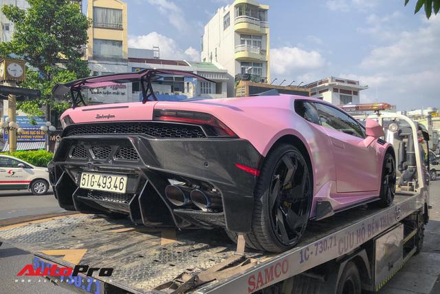 Lamborghini Huracan màu hồng nữ tính của đại gia Bạc Liêu - Hình 7
