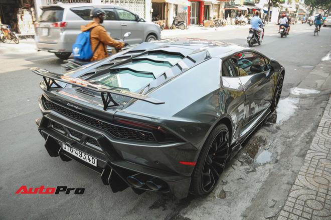 Lamborghini Huracan màu hồng nữ tính của đại gia Bạc Liêu - Hình 6