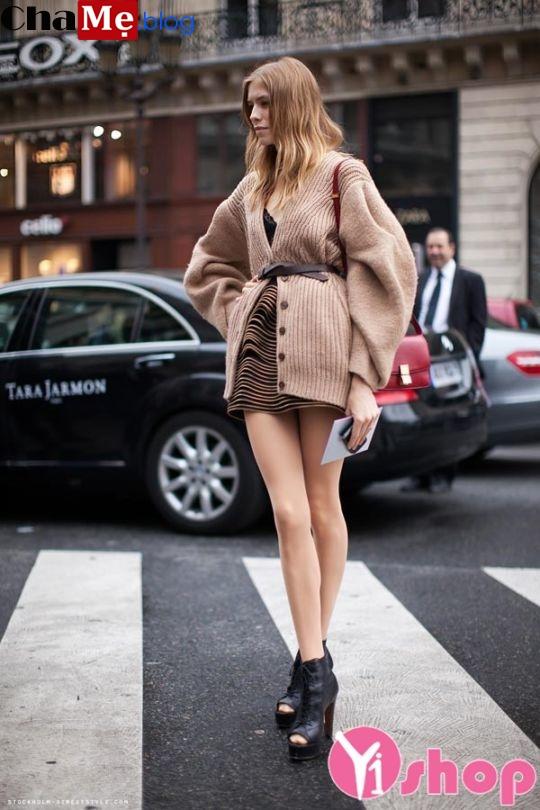 Áo khoác cardigan nữ đẹp đông cho nàng ấm áp - Hình 14
