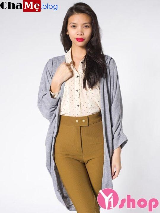 Áo khoác cardigan nữ đẹp đông cho nàng ấm áp - Hình 10