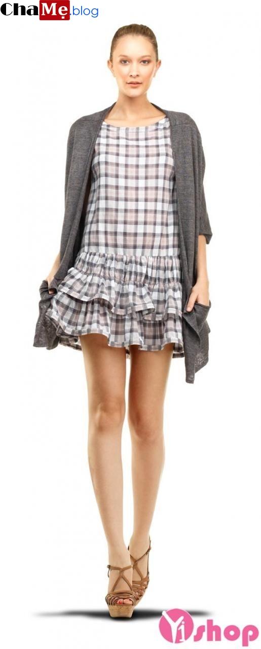 Áo khoác cardigan nữ đẹp đông cho nàng ấm áp - Hình 16