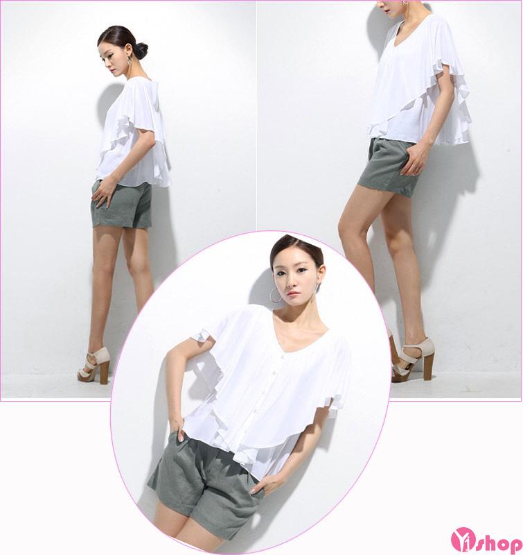BST áo sơ mi nữ tay lỡ đẹp kiểu công sở phong cách cá tính - Hình 6