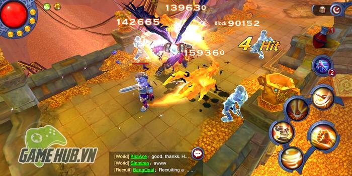Down ngay Overlords of Oblivion - ARPG quẩy tung màn hình Mobile với hàng loạt Skill khủng - Hình 1