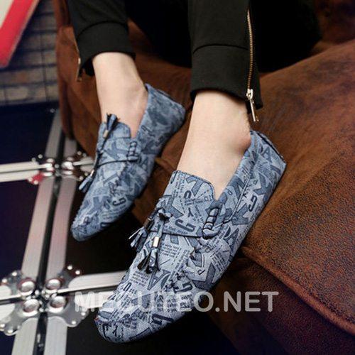 Giày lười nam phong cách Hàn Quốc đẹp nhất cho chàng trai trẻ trung cá tính - Hình 4