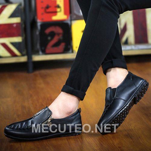 Giày lười nam phong cách Hàn Quốc đẹp nhất cho chàng trai trẻ trung cá tính - Hình 11