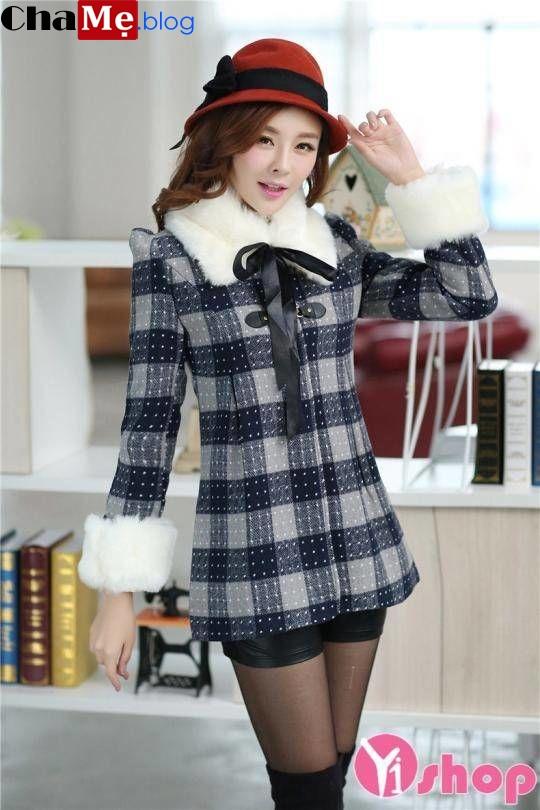 Giới thiệu áo khoác dạ nữ cổ lông đẹp dành riêng cho mùa đông - Hình 7