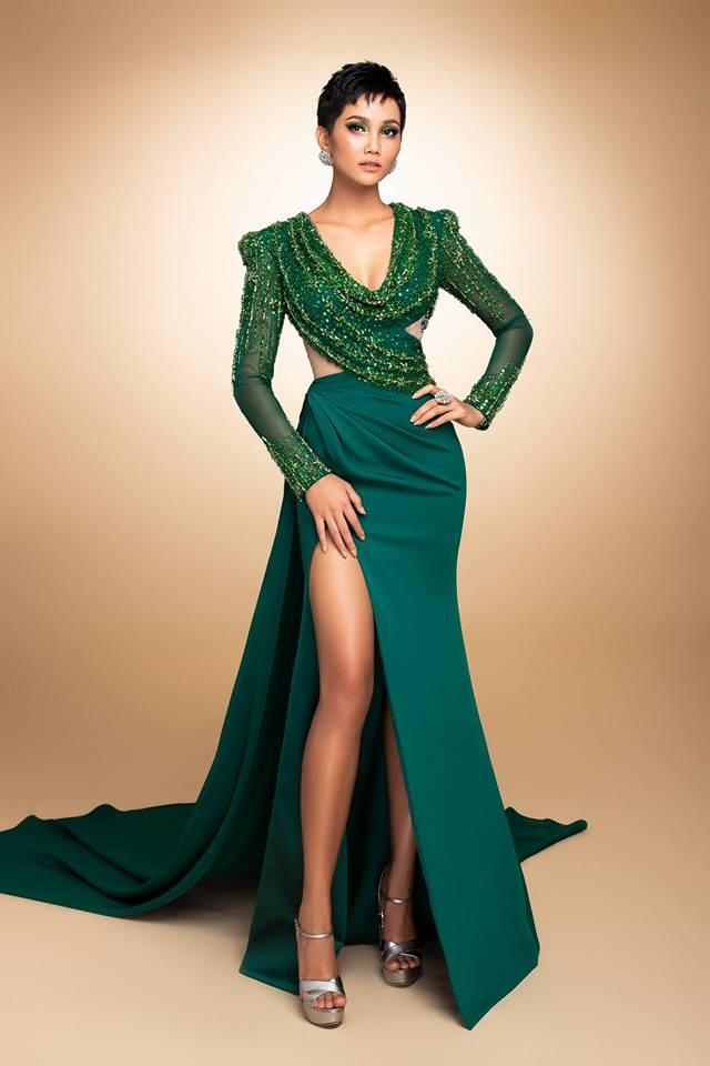 Hé lộ 3 chiếc đầm sẽ chinh chiến cùng H'Hen Niê tại Evening Gown - Miss Universe 2018? - Hình 7