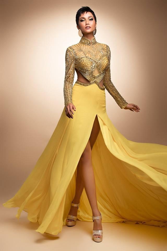 Hé lộ 3 chiếc đầm sẽ chinh chiến cùng H'Hen Niê tại Evening Gown - Miss Universe 2018? - Hình 3