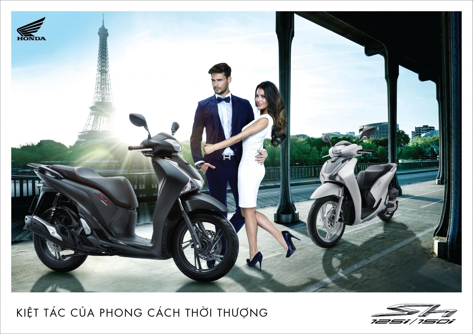 Honda Việt Nam ra mắt màu đen mờ hoàn toàn mới cho dòng xe cao cấp SH 150i - Hình 1
