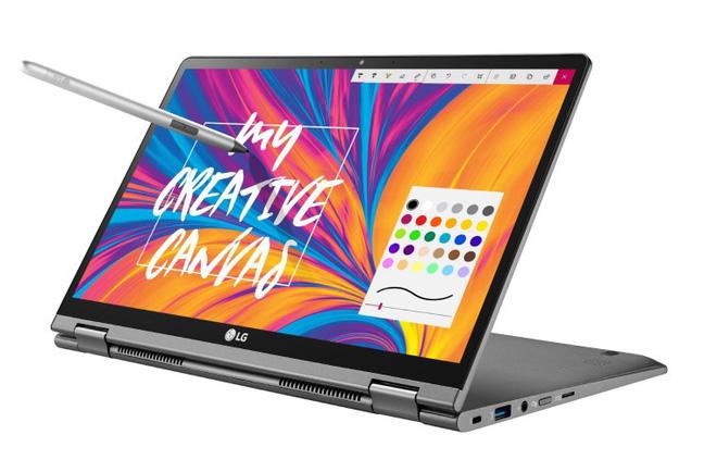 LG bổ sung các mẫu 17-inch và 2-trong-1 vào dòng laptop Gram, sẽ ra mắt tại CES 2019 - Hình 1