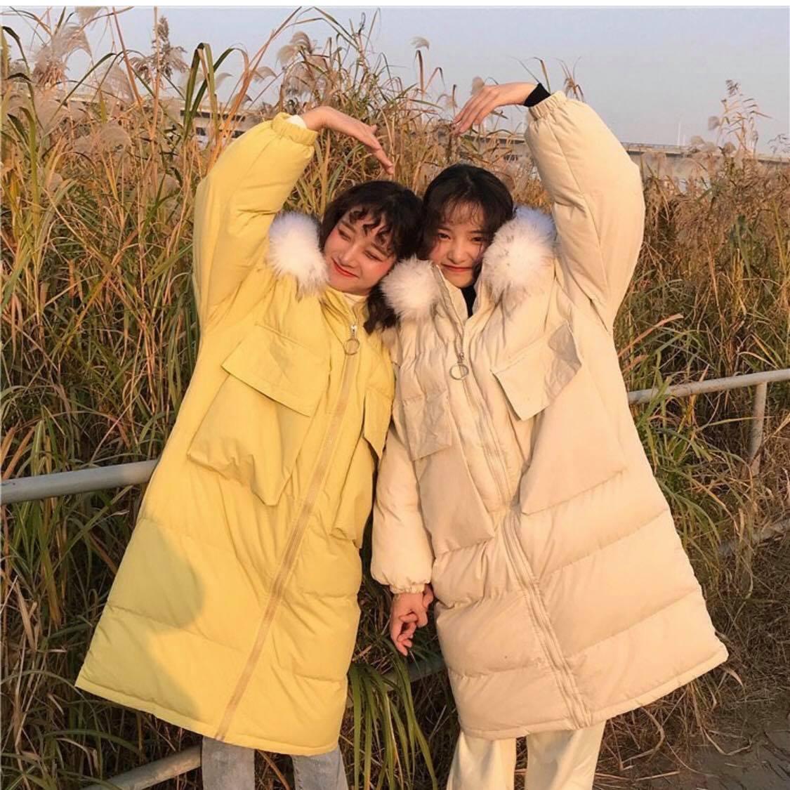 Mùa Đông không lạnh với áo khoác phong cách quấn chăn lăn ra đường - Hình 5