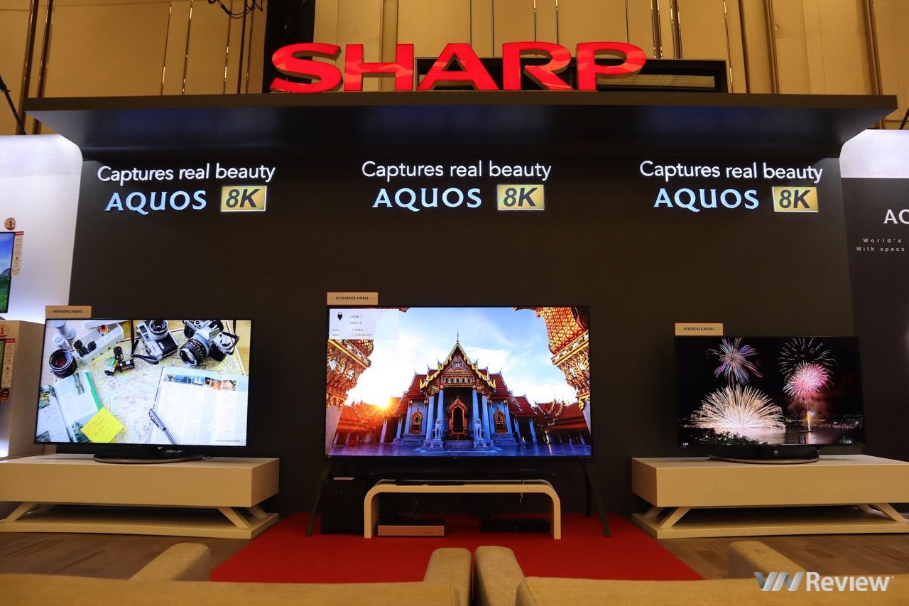 Sharp bất ngờ trình diễn màn hình OLED dẻo uốn cong, TV 8K nhân kỷ niệm 10 năm có mặt tại VN - Hình 9