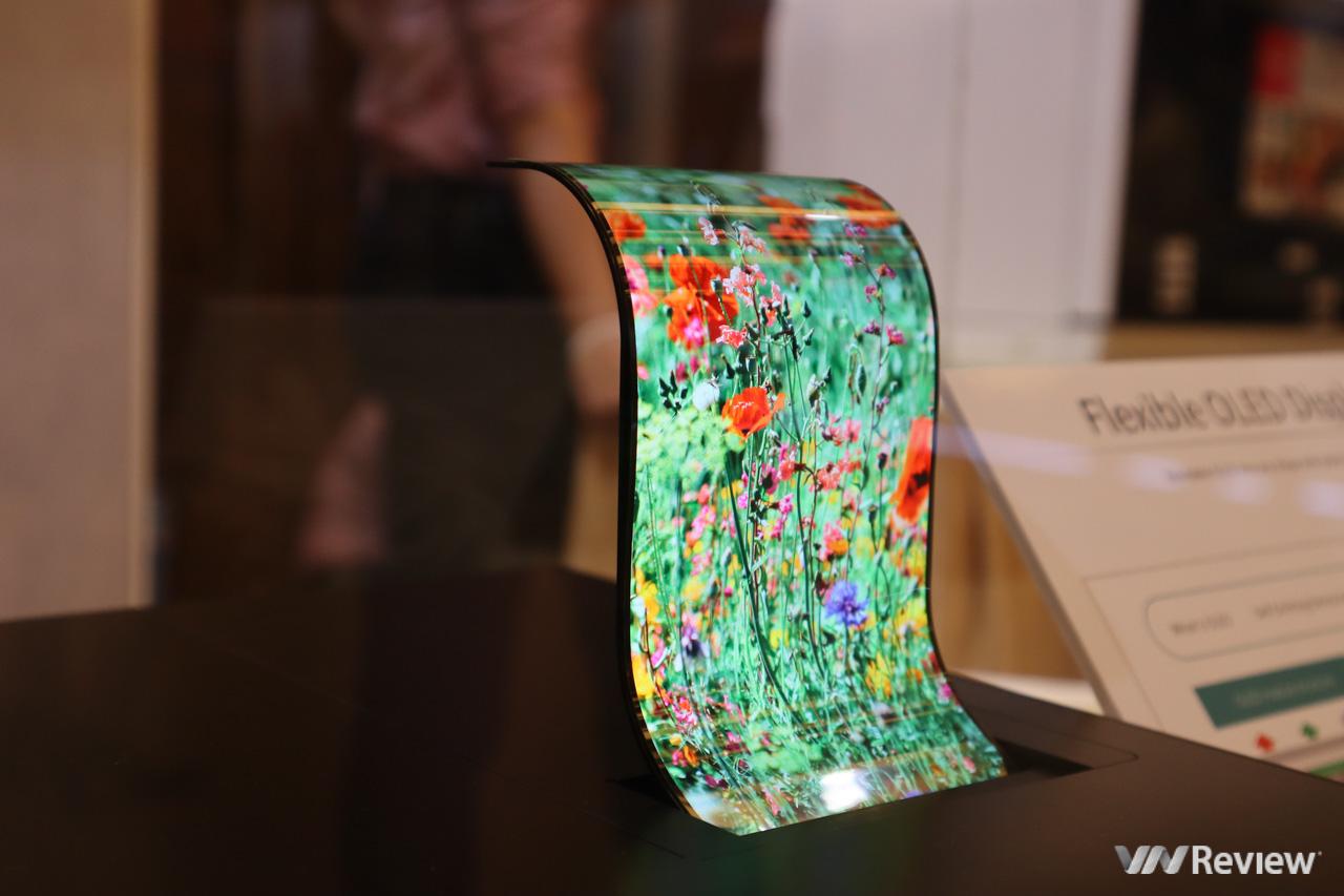 Sharp bất ngờ trình diễn màn hình OLED dẻo uốn cong, TV 8K nhân kỷ niệm 10 năm có mặt tại VN - Hình 3